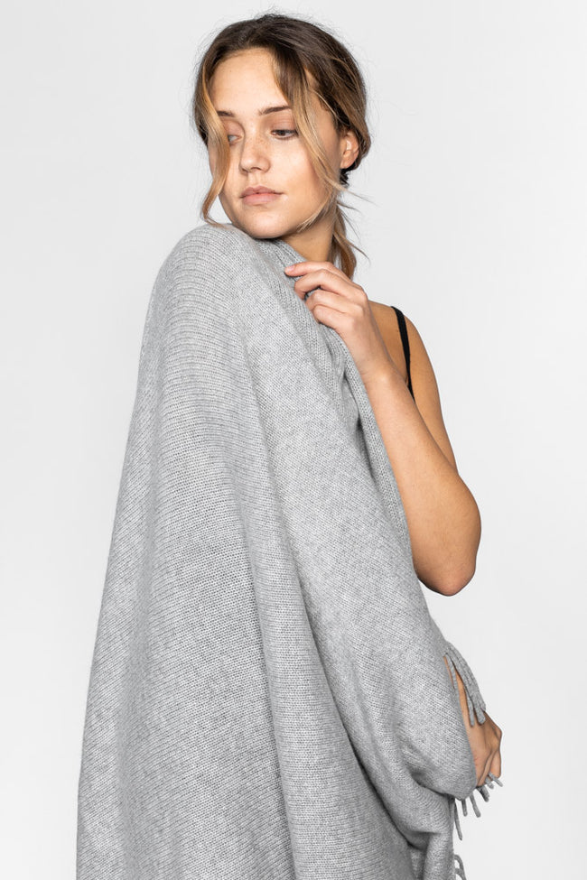 "cashmere blanket ""LUX"" in 100% cashmere by Kashmina"