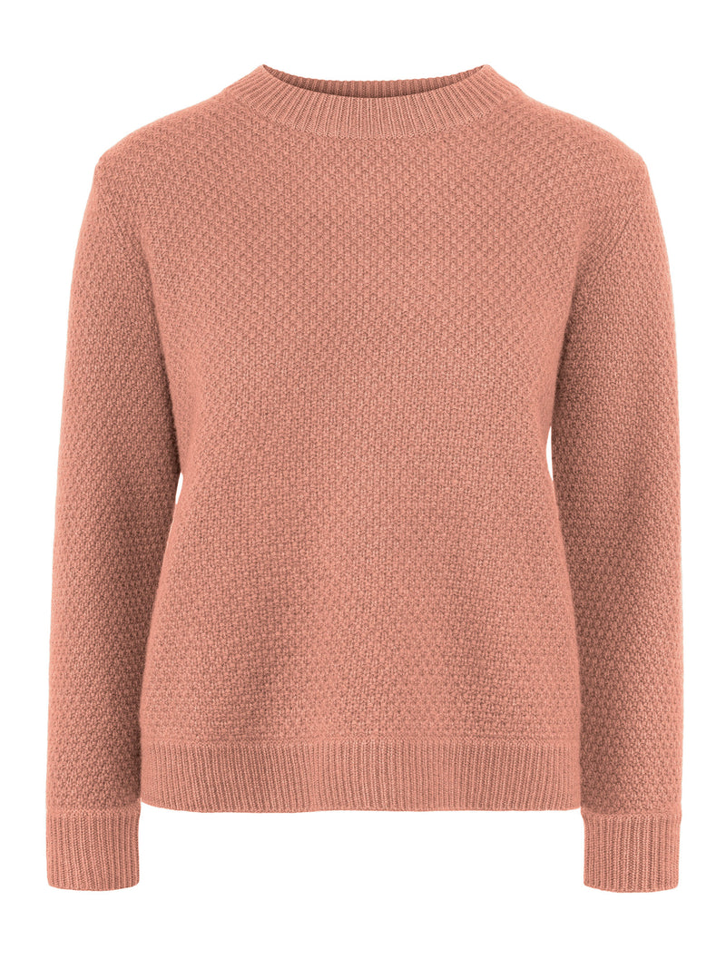 cashmere sweater pearl in 100% cashmere by Kashmina