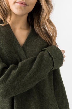 "cashmere sweater ""Big shirt"" in 100% cashmere by Kashmina"