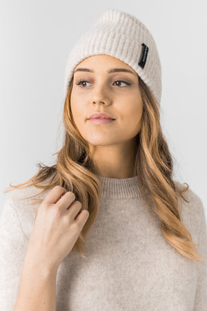 "cashmere cap ""Top love"" in 100% cashmere by Kashmina"