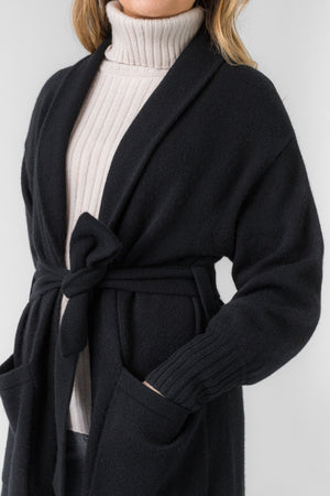 cashmere coat Trench in 100% cashmere by Kashmina