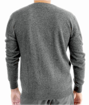 Men's cashmere sweater v-neck Kashmina