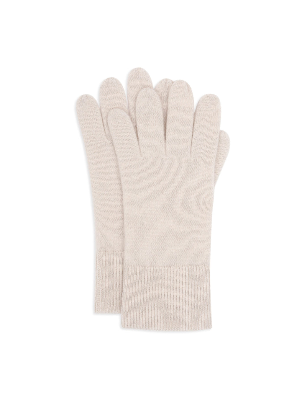 cashmere mittens snow in 100% cashmere by Kashmina