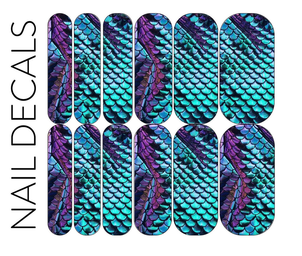 Mermaid Scale 2 Decals