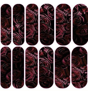 Blood Rose Decals