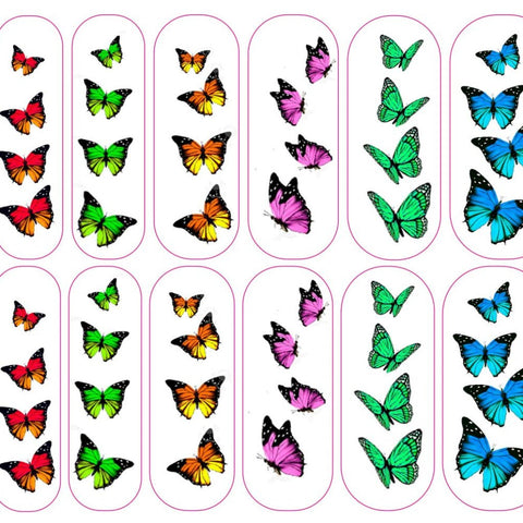 Butterfly Decals - CLEAR