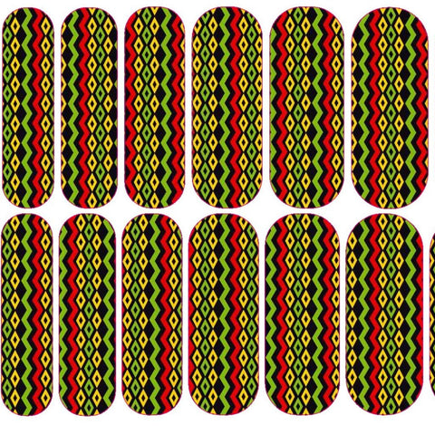 Jamaican Pattern Decals