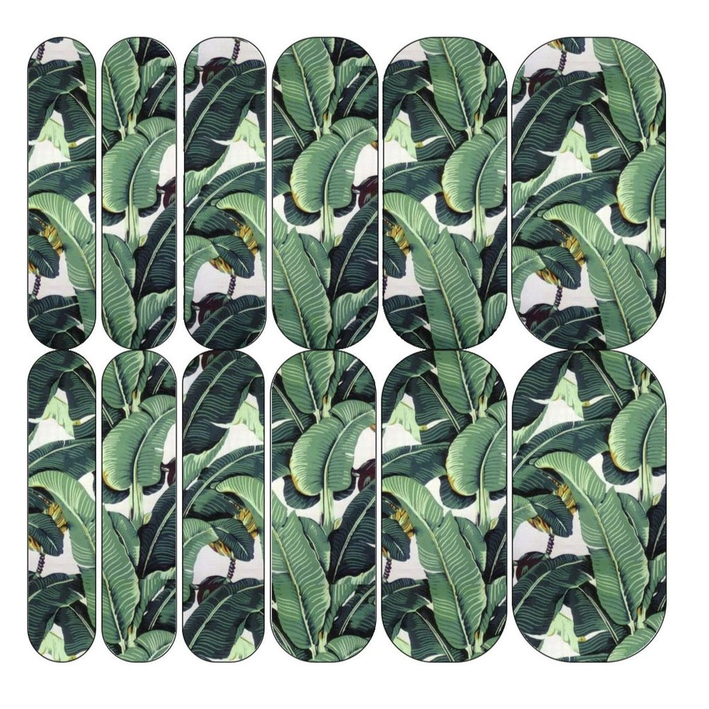 Banana Leaf Decals