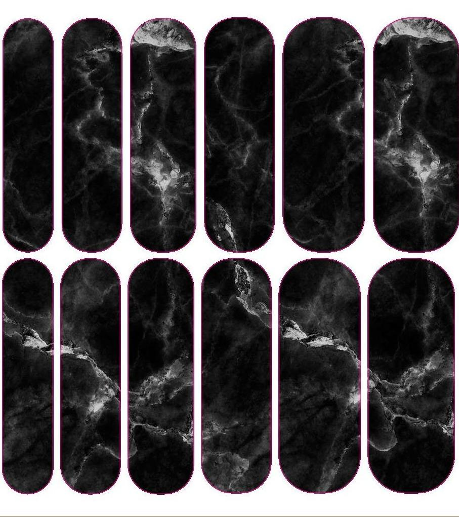 Black Marble Decals