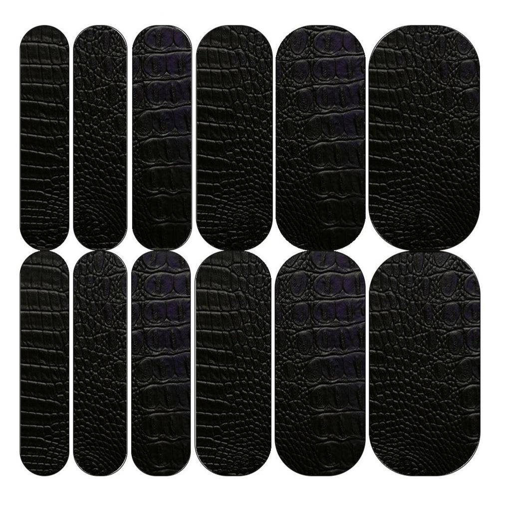 Black Croc Decals