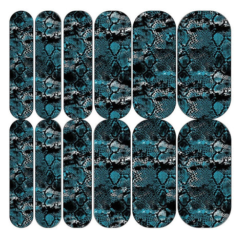 Blue Snake 3 Decals