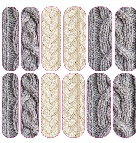 Cable Knit Decals