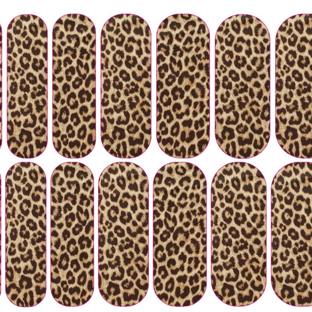 Leopard Plush Decals