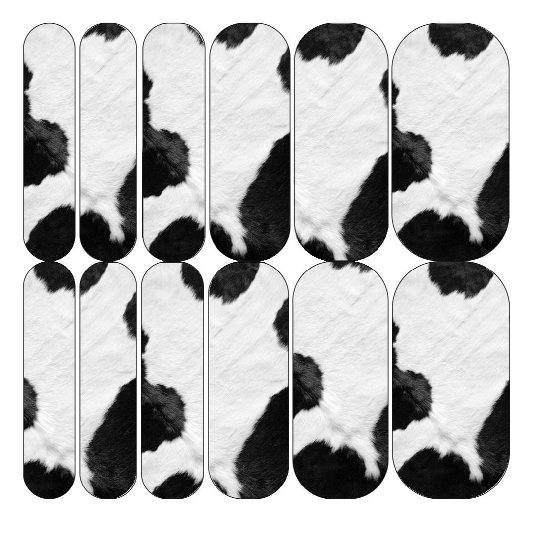 Cow Fur Decals