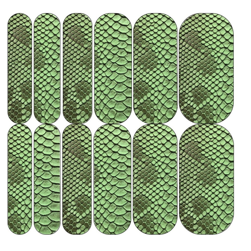 Green Snake Decals