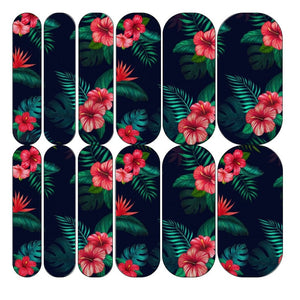 Hibiscus Decals