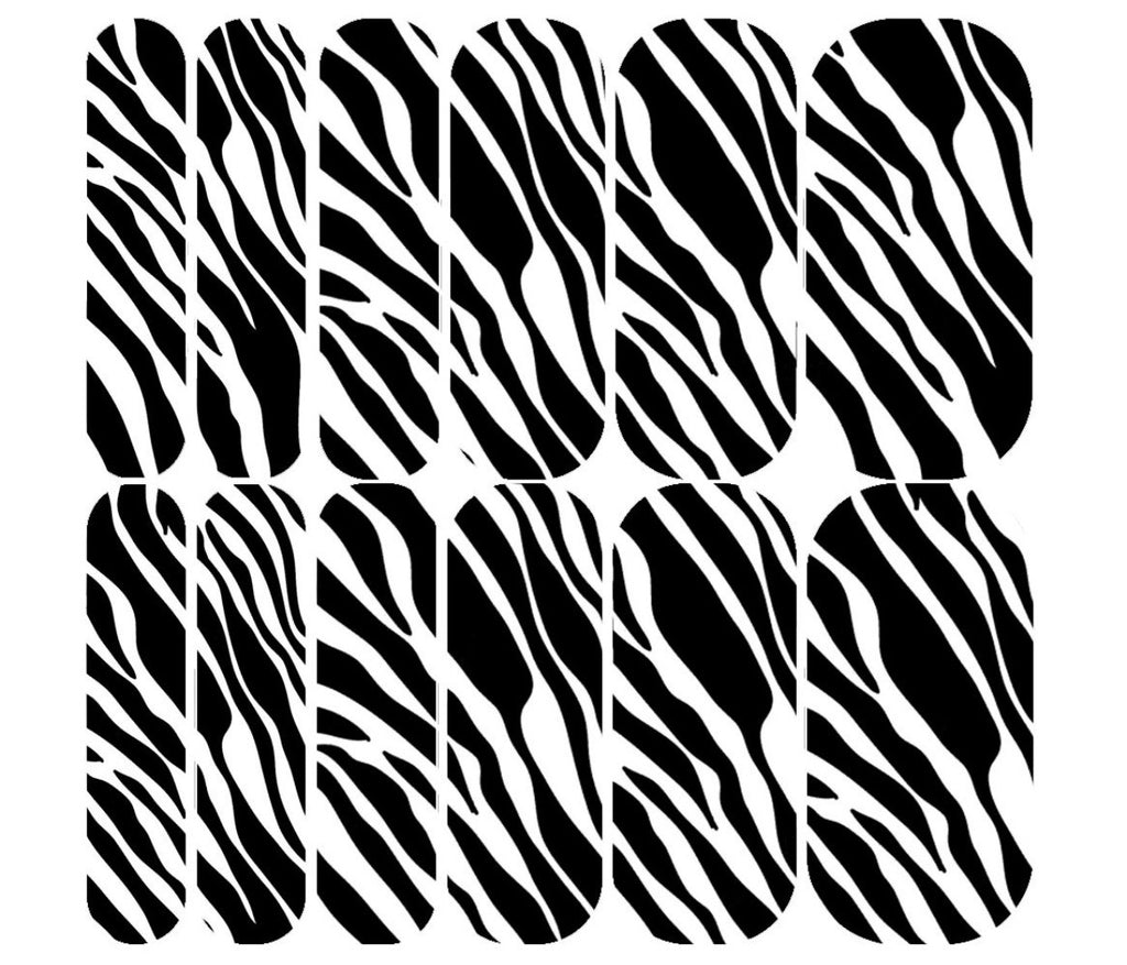 Zebra Decals