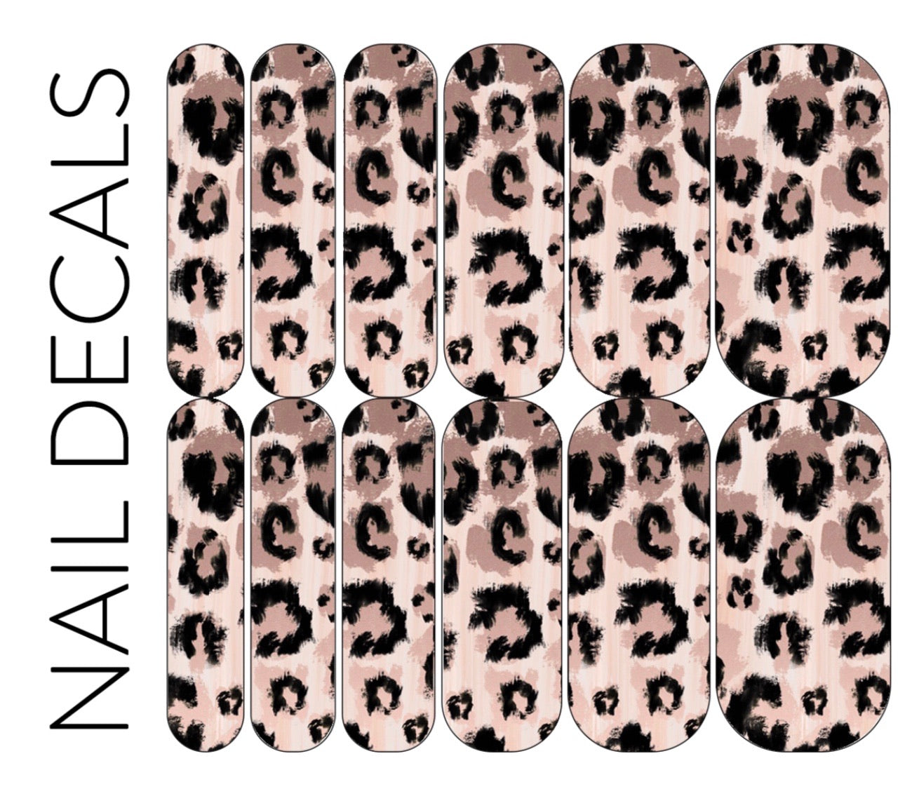 Leopard Paint Decals