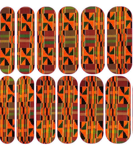 Kente Decals