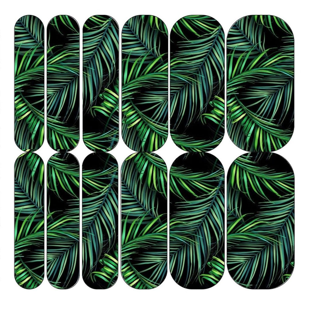 Tropical Leaf Decals