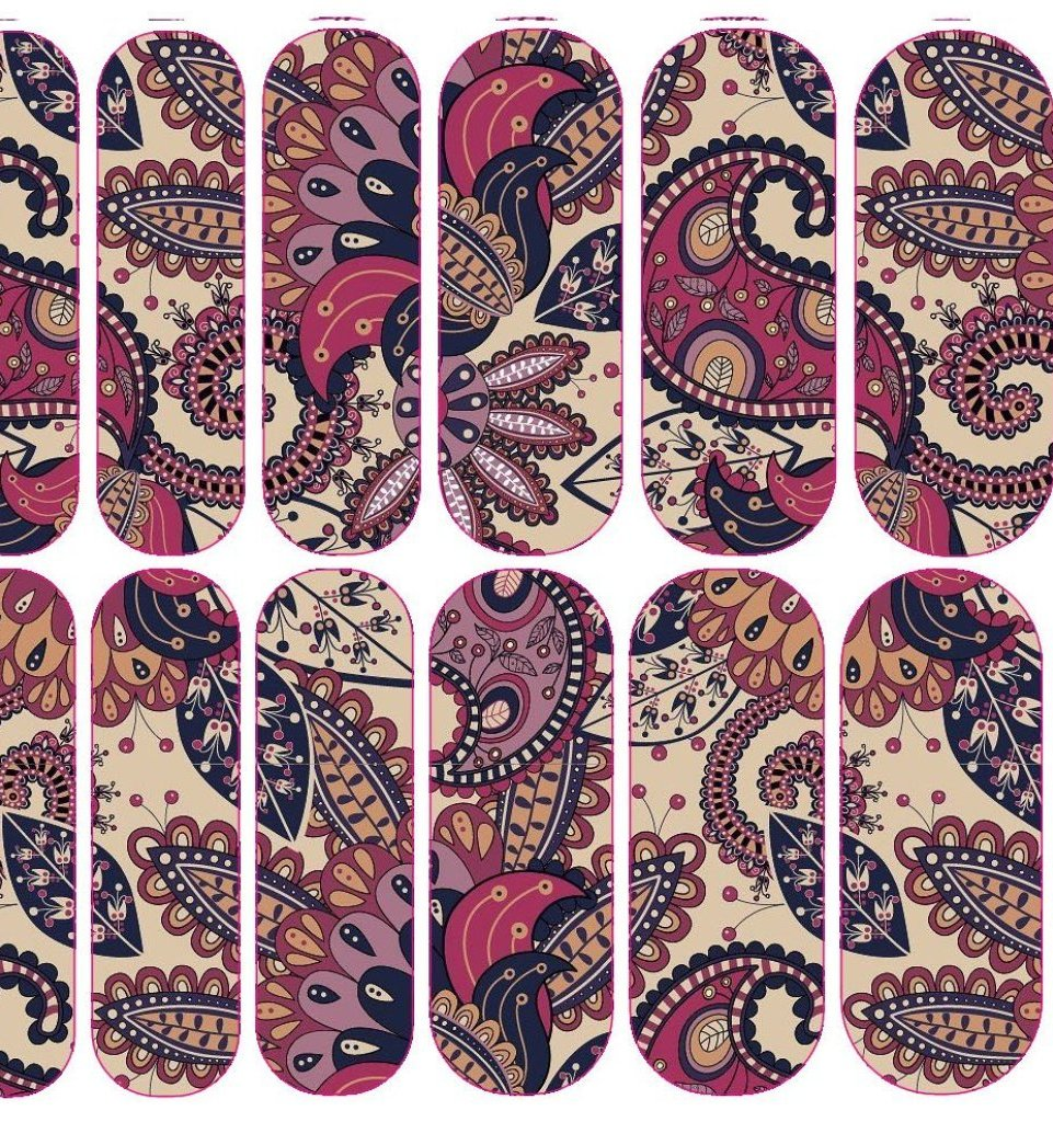 Paisley Decals