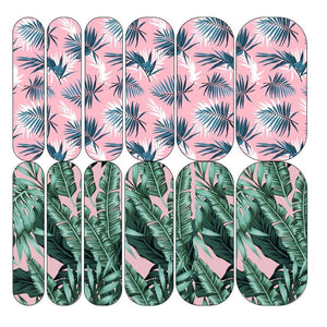 Pastel Palm Decals