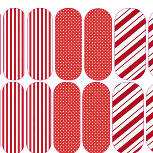 Seasonal Stripe Decals