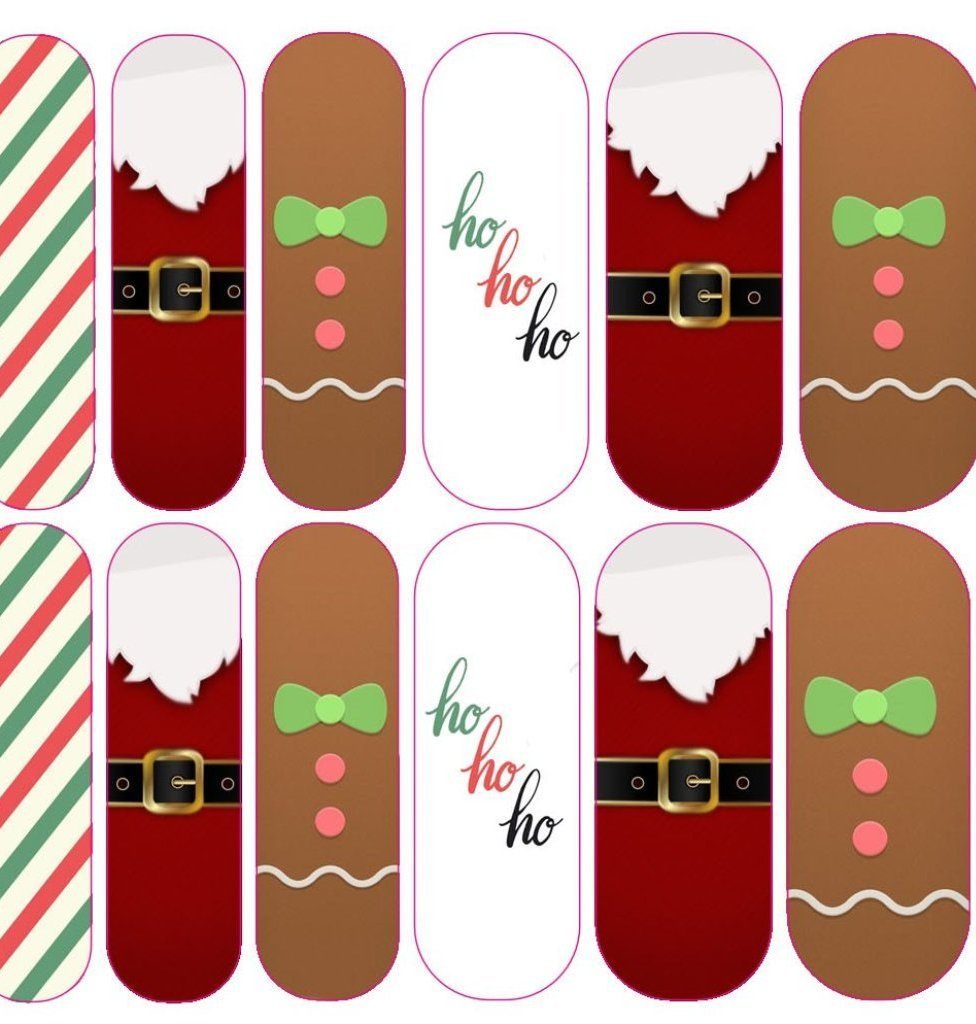 Ho Ho Ho Decals