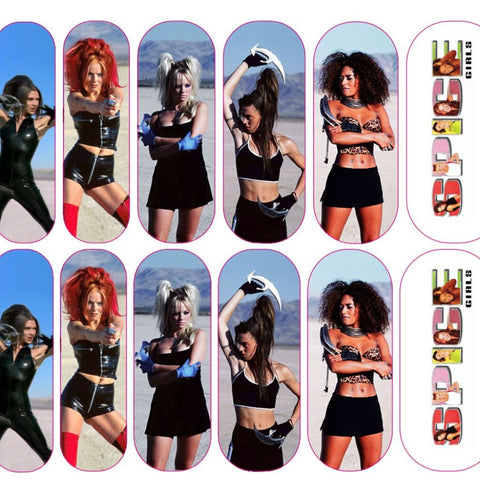 Girl Power Spice Girls Decals