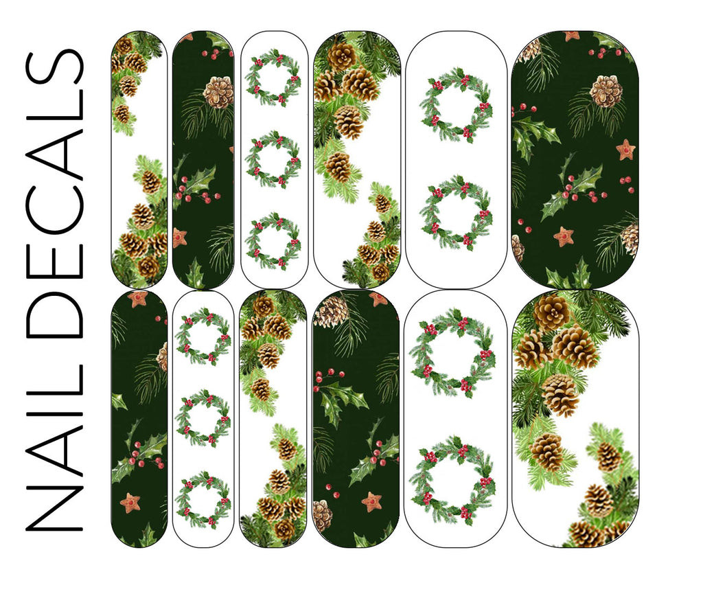 Seasons Greetings Decals