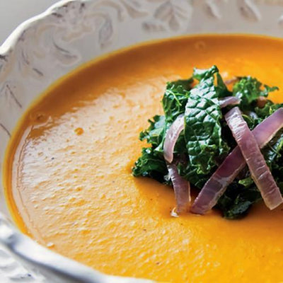 Butternut, Coconut and Ginger soup