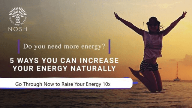 Do You Need More Energy?