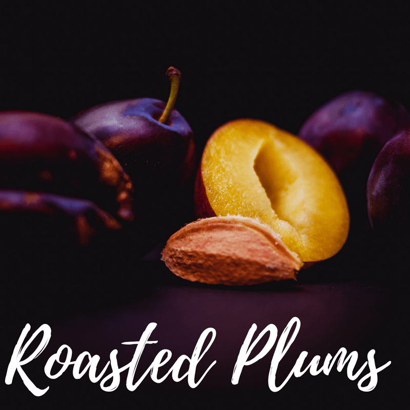 Christmas Roasted Plums