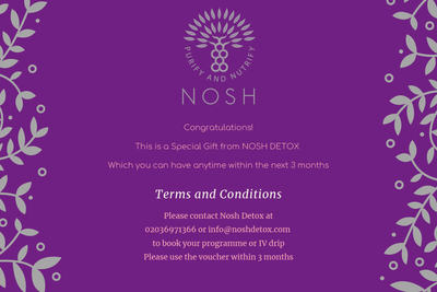 Personalised Gift Card - Nosh Detox