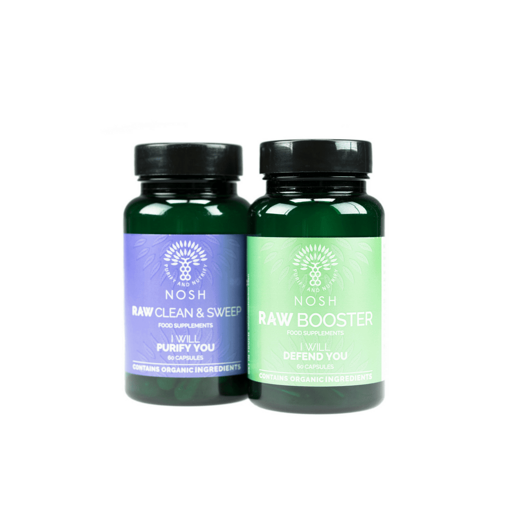 Boost your programme with our RAW Cleanser & Booster Pack - Nosh Detox