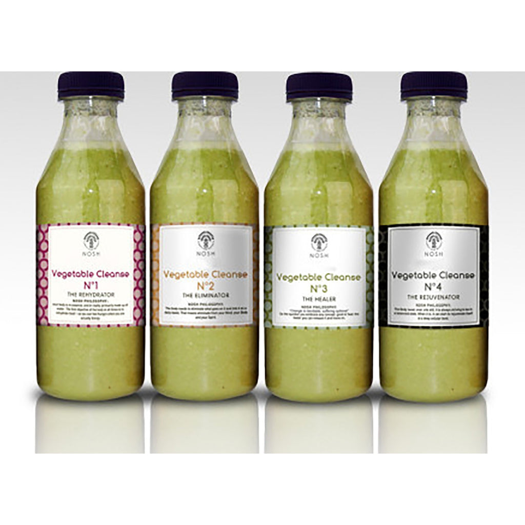 Nosh Super Green Vegetable Cleanse - Nosh Detox