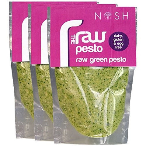 Nosh Raw Green Pesto - Nosh Detox