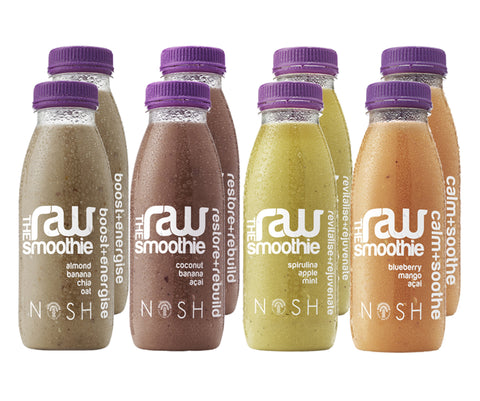 The Raw Smoothie – Mixed Assortment - Nosh Detox