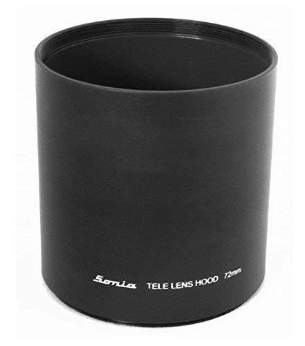 uxcell Screw Mount 77mm Hood for Telephoto 80-200mm Lens Shade
