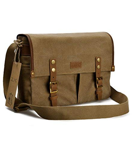 cabbe997670 Other Bags   Cases - ZLYC Canvas Leather DSLR SLR Vintage Camera ...
