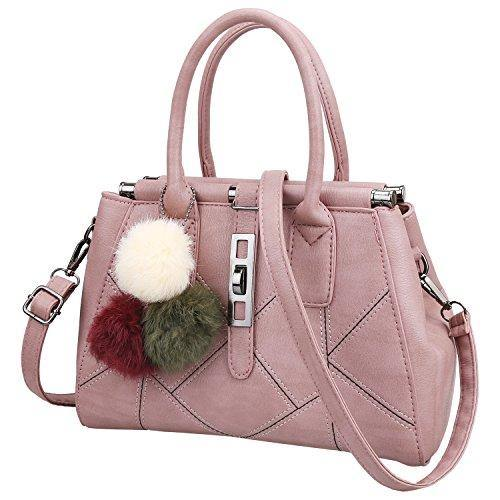 e4764ebca57a Womens Designer Purses and Handbags Fashion Handbags for Women PU Leather  Shoulder Bags Ladies Tote