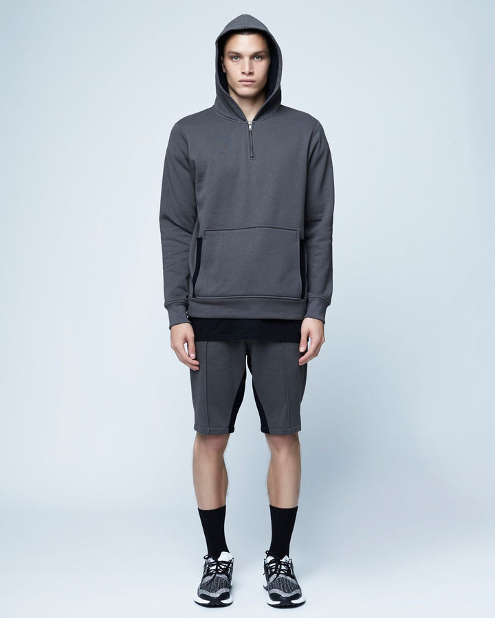 Pride French Terry Mesh Insert Hoodie - twentytees