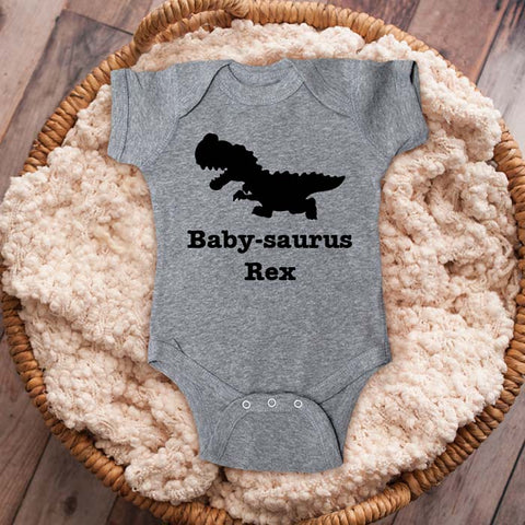 Baby-saurus Rex Dinosaur party trex baby onesie shirt Infant, Toddler & Youth Shirt