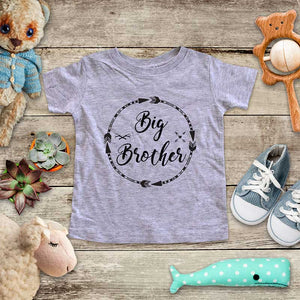Big Brother  - Circle Arrows hipster arrow boho design baby onesie Infant & Toddler Soft Shirt baby birth pregnancy announcement