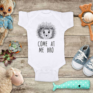 Come At Me Bro Hedgehog funny and cute kids baby onesie shirt - Infant & Toddler Youth Soft Fine Jersey Shirt