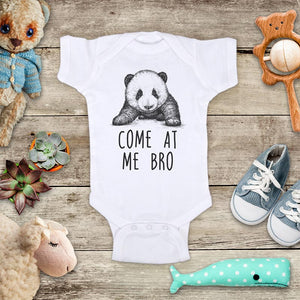 Come At Me Bro Panda funny and cute kids baby onesie shirt - Infant & Toddler Youth Soft Fine Jersey Shirt