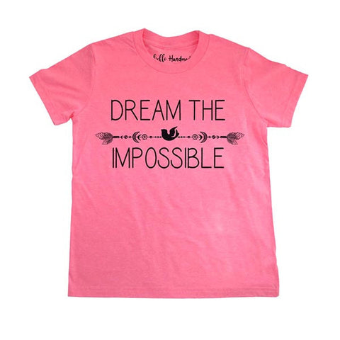 Dream The Impossible - Youth Short Sleeve Crewneck Jersey Tee Shirt