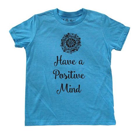 Have a Positive Mind - Youth Short Sleeve Crewneck Jersey Tee Shirt