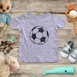 Soccer ball sports activity fun baby onesie Infant, Toddler & Youth Soft Shirt