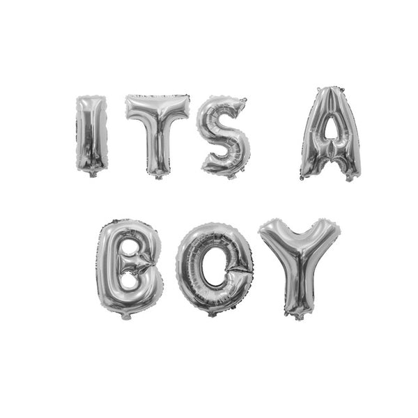 Pre-order Its a Boy Ballons gold/silver